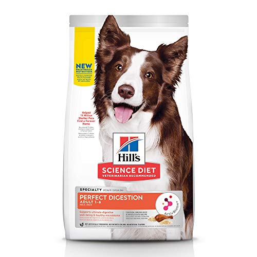 Hill's Science Diet Adult Perfect Digestion Chicken Dog Dry, 22-lb