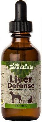 Animal Essentials Liver Defense Support Dog & Cat Supplement, 2-oz bottle