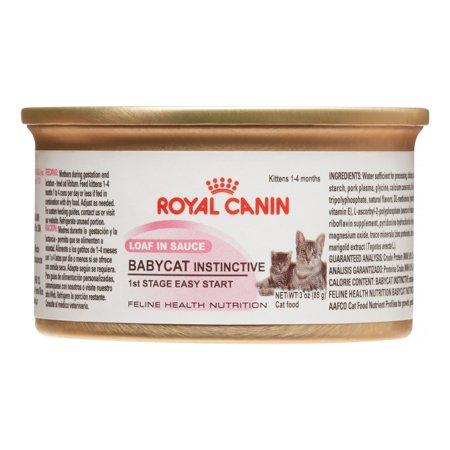 Royal Canin Babycat Instinctive Loaf in Sauce Wet Cat Food Image