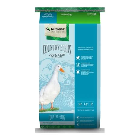 Nutrena Country Feeds Pellet Duck Feed, 50-lb