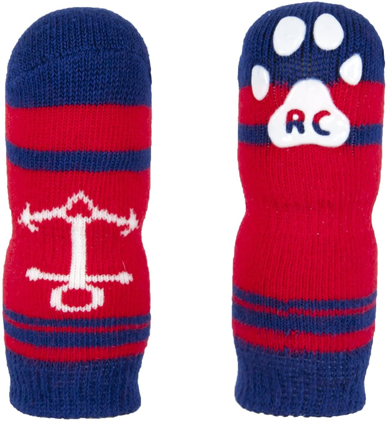 RC Pet Products Pawks Dog Socks, Nautical, Small