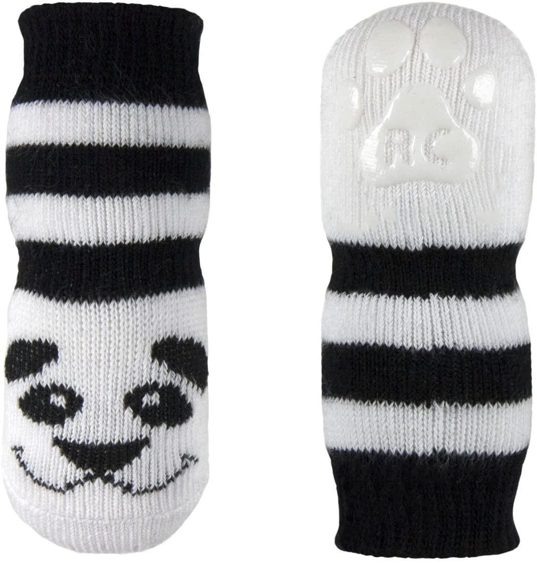 RC Pet Products Pawks Dog Socks, Panda, Small