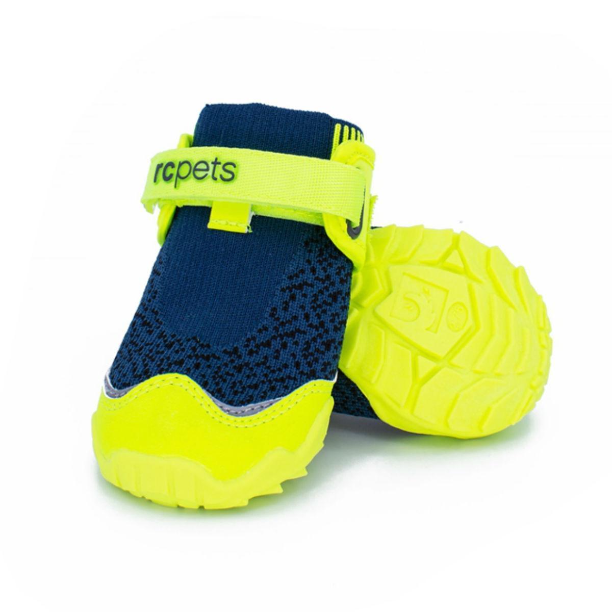 RC Pet Products Apex Dog Boots, Arctic Blue/Tennis Image