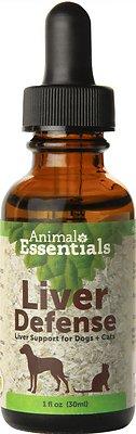 Animal Essentials Liver Defense Support Dog & Cat Supplement, 1-oz bottle