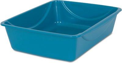 Petmate Litter Pan with Microban, Color Varies, Medium