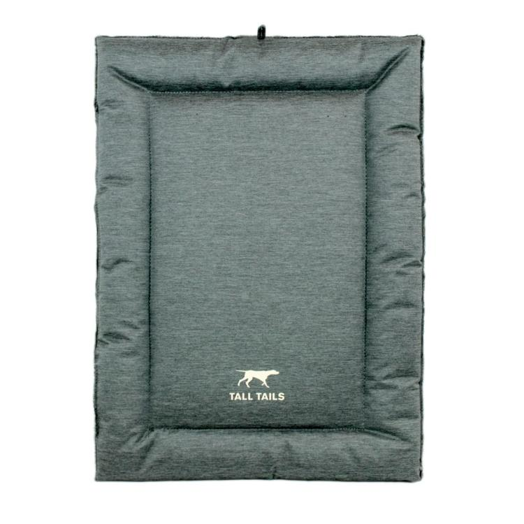 Tall Tails Dream Chaser Dog Crate Bed, Gray Image
