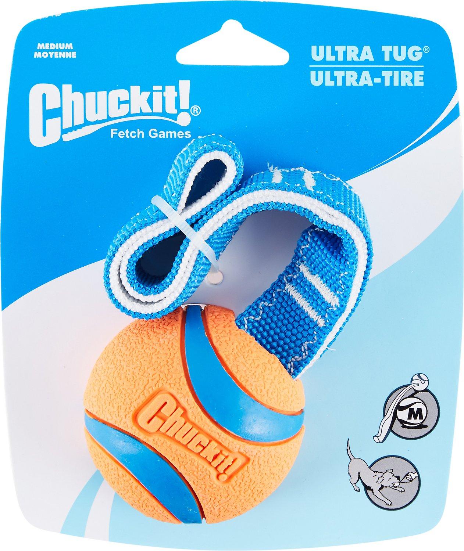 Chuckit! Ultra Tug Ball Dog Toy Image