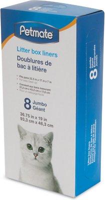 Petmate Litter Pan Boxed Liners, Jumbo