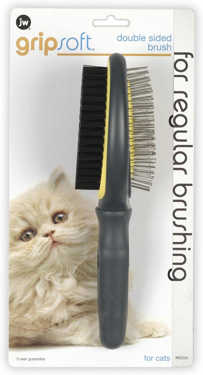 JW Pet Double Sided Cat Brush