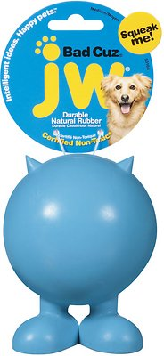 JW Pet Bad Cuz Dog Toy, Color Varies, Medium