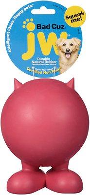 JW Pet Bad Cuz Dog Toy, Color Varies, Large
