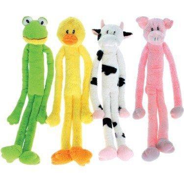 Multipet Swingin' Slevins Dog Toy, Character Varies, 30-in