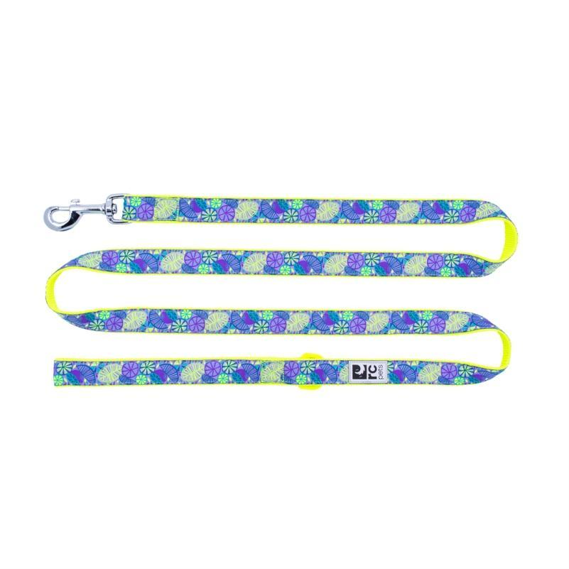 RC Pet Products Dog Leash, Citrus, 1-in x 6-ft