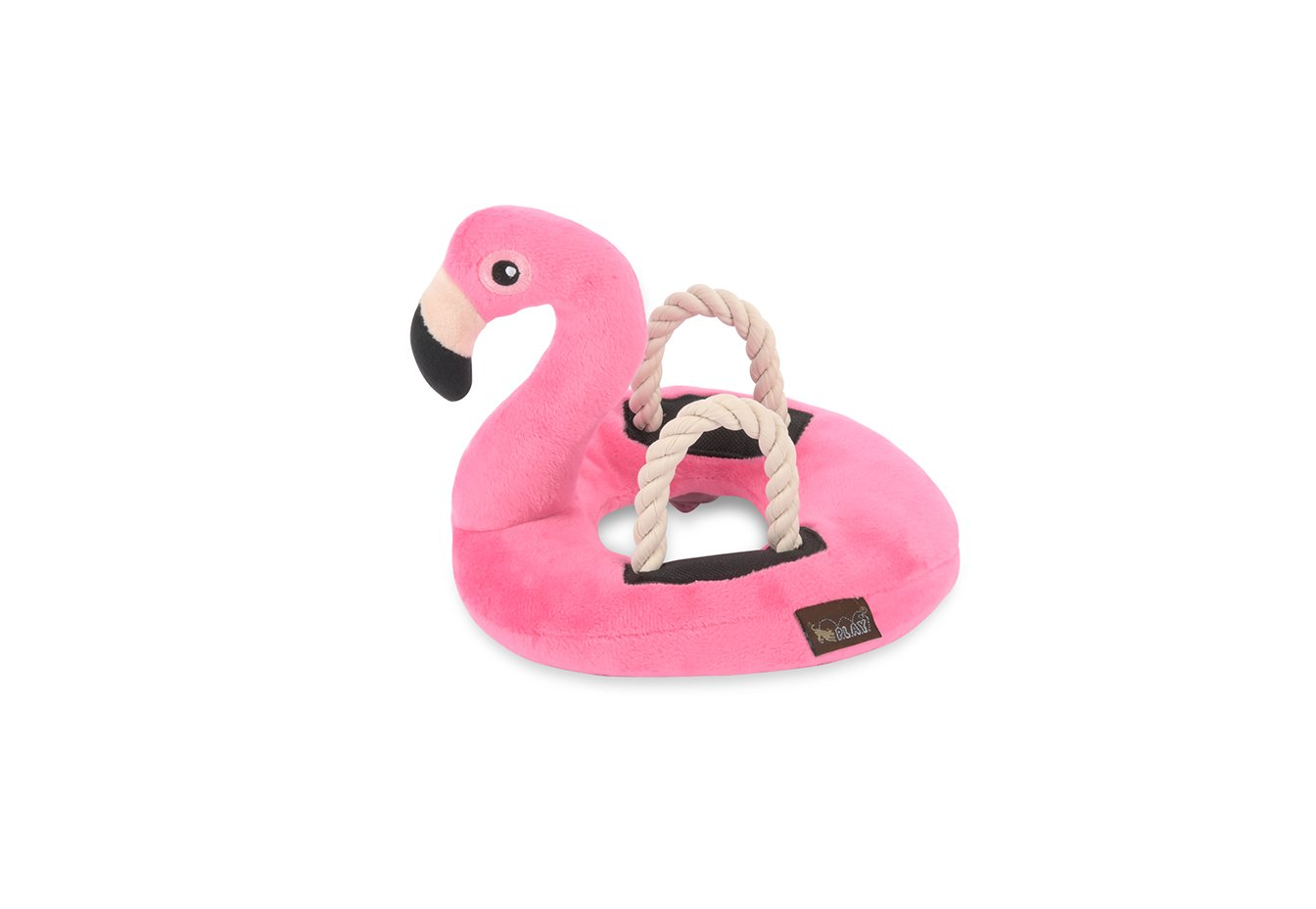 P.L.A.Y. Tropical Paradise Flamingo Float Dog Toy