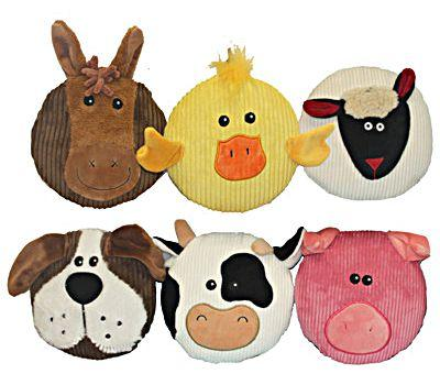 Multipet Sub-Woofers Dog Toy, Character Varies, 7-in