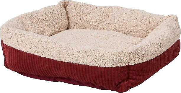 Aspen Pet Self Warming Pet Bed, Warm Spice/Cream Image