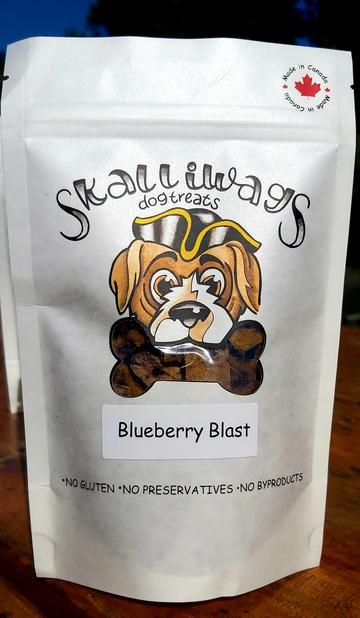 Skalliwags Blueberry Blast Dog Treat Image