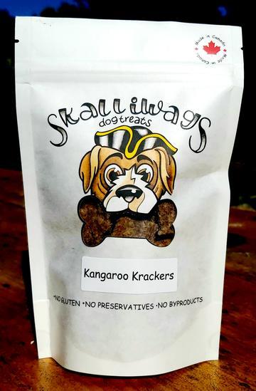 Skalliwags Kangaroo Krackers Dog Treat Image