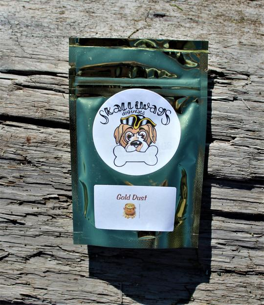 Skalliwags Gold Dust Dog Food Topper Image