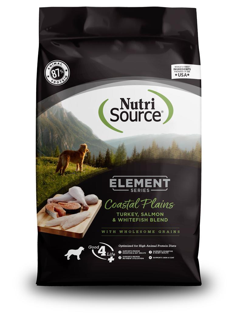 NutriSource Element Coastal Plains Dry Dog Food, 4-lb