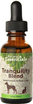 Animal Essentials Tranquility Blend Herbal Formula Dog & Cat Supplement, 1-oz bottle