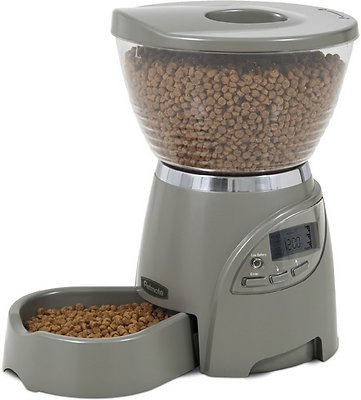 Petmate Portion Right Programmable Pet Feeder, 5-lb