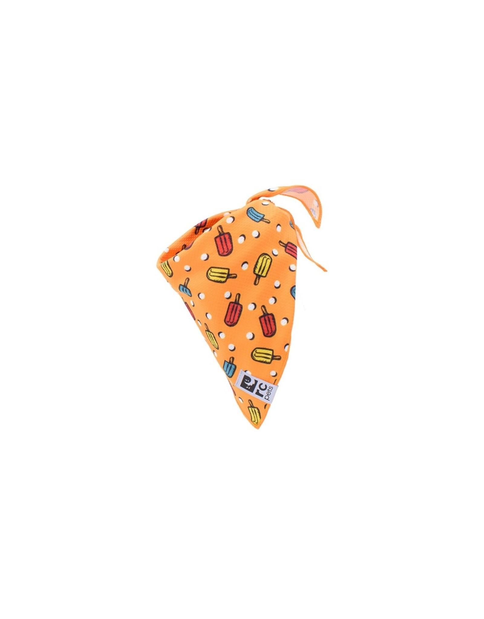 RC Pet Zephyr Cooling Bandana, Popsicles, Small