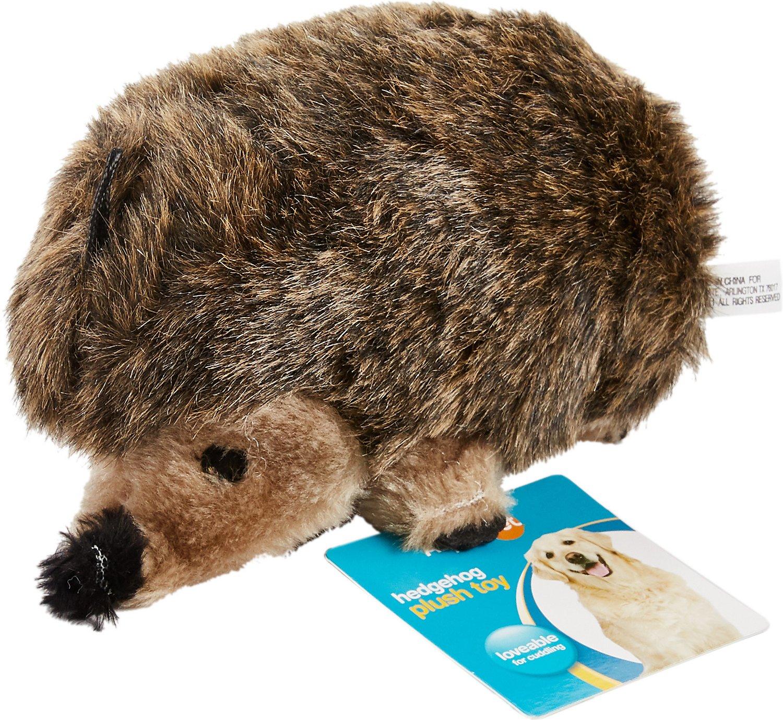 Booda Soft Bite Large Hedgehog Plush Dog Toy
