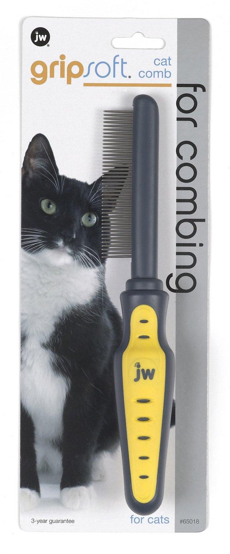 JW Pet Gripsoft Cat Comb Image