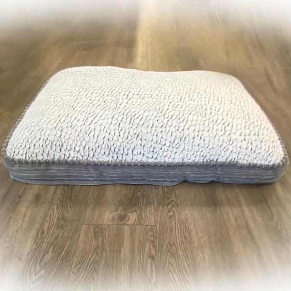 Inovatex Pet Pure Comfort Accented Napper Pet Bed, Grey Image
