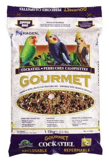 Hagen Gourmet Cockatiel Seed Mix Bird Food, 2.5-lb