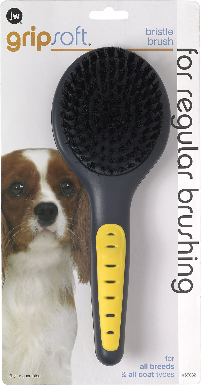 JW Pet Gripsoft Bristle Brush