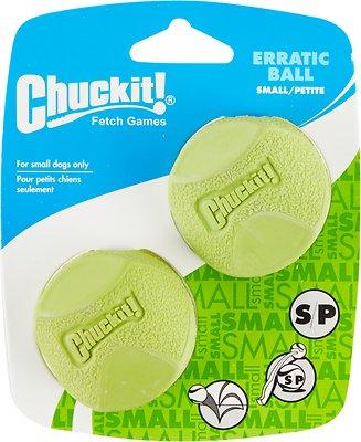 Chuckit! Erratic Ball, Small, 2-pk