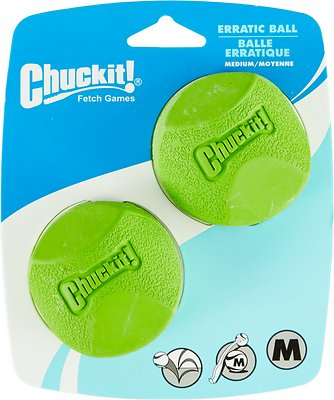 Chuckit! Erratic Ball, Medium, 2-pk