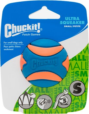 Chuckit! Ultra Squeaker Ball, Small, 1 count