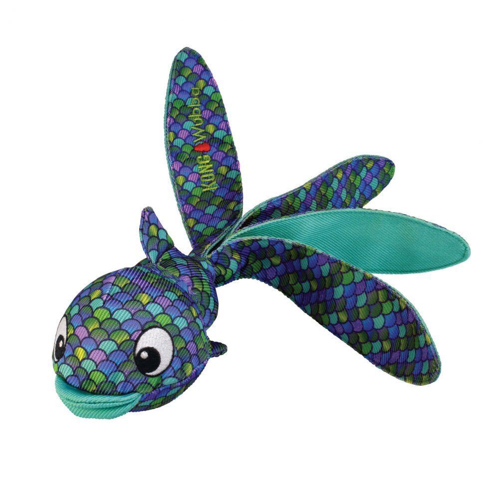 KONG Wubba Finz Dog Toy, Blue Image