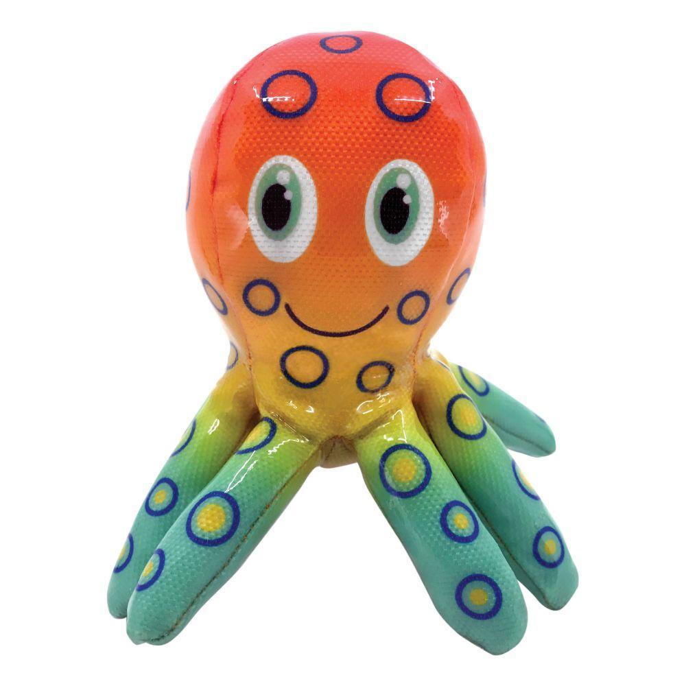 KONG Shieldz Tropics Octopus Dog Toy, Medium