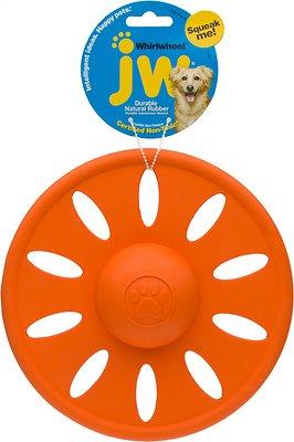 JW Pet Whirlwheel Flying Disk Dog Toy, Color Varies, Large