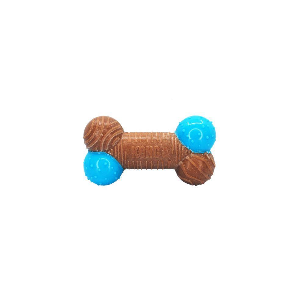 KONG CoreStrength Bamboo Bone Dog Toy, Small