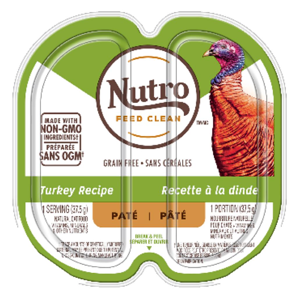 Nutro Turkey Pate Cat Food Trays Image
