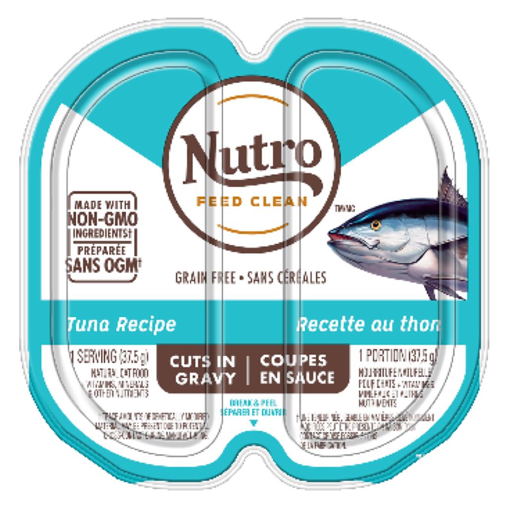 Nutro Tuna Cuts in Gravy Cat Food Trays Image