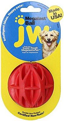 JW Pet Megalast Ball Dog Toy, Color Varies, Large
