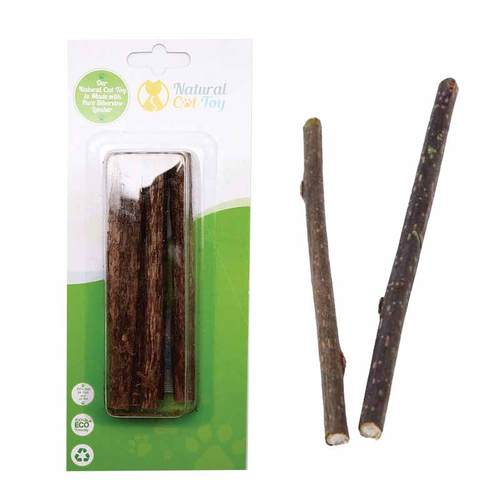Natural Cat Toys Silvervine Sticks Image