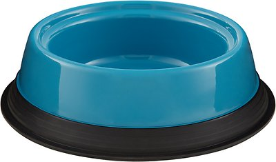 JW Pet Skid Stop Basic Pet Bowls, Color Varies, Large