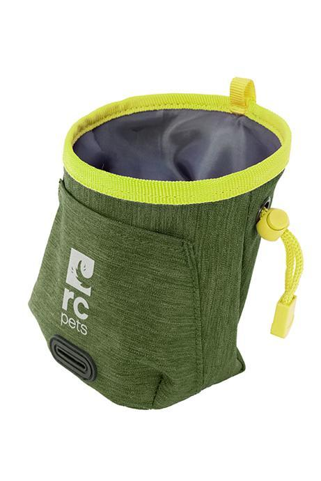 RC Pet Products Essential Dog Treat Bag, Heather Olive Image