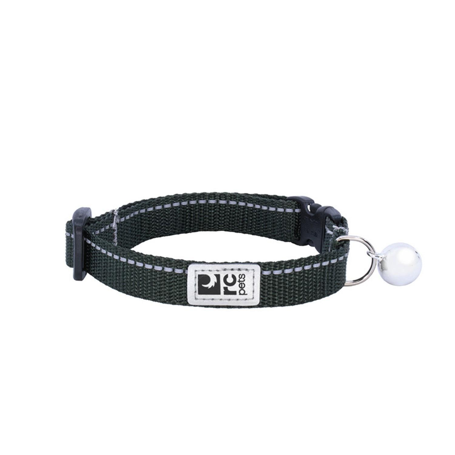 RC Pet Products Primary Kitty Breakaway Cat Collar, Dark Olive Image