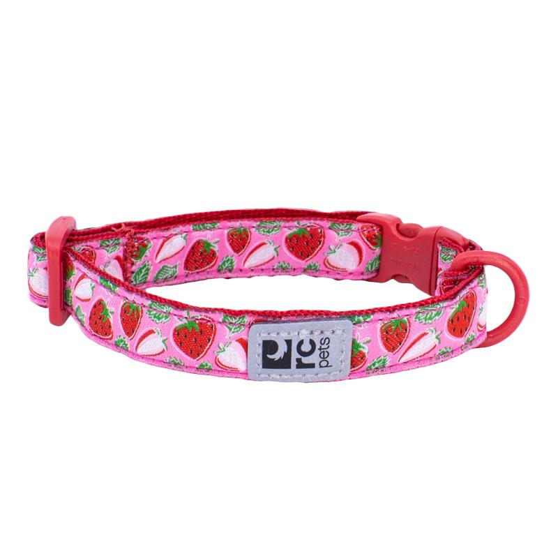 RC Pet Products Kitty Breakaway Cat Collar, Strawberries Image