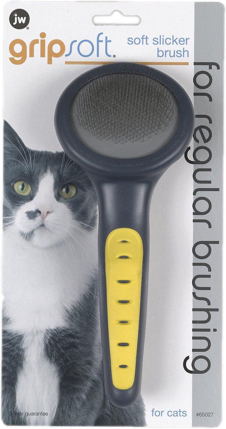 JW Pet Gripsoft Cat Slicker Brush