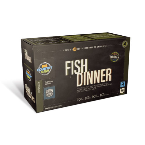 Big Country Raw Fish Dinner Frozen Food, 4-lb