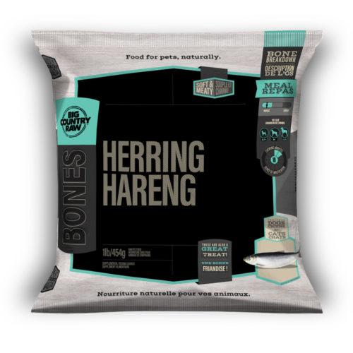 Big Country Raw Herring Frozen Food, 1-lb